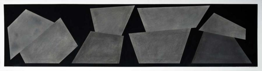 Build Horizontal #1, 2018, 40.9 x 152 cm-Galleria Michela Rizzo