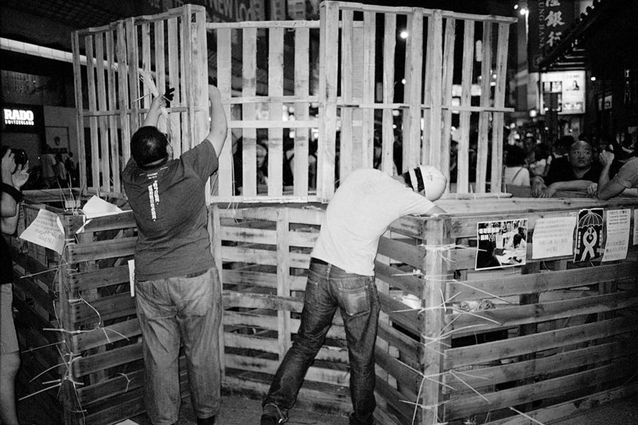 Lele Saveri, Hong Kong Barricades, 2014_08 © Lele Saveri