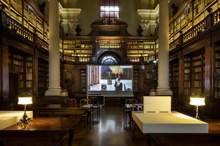 Armin Linke, Prospecting Oceans - Biblioteca Universitaria, Bologna